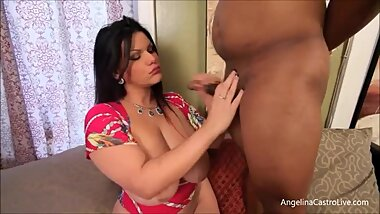 Big Tit Latina Angelina Castro Is Good at Teasing and Pleasing Diamond Lou's BBC!