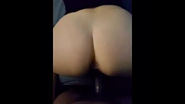 PAWG fucks BBC throws ass back