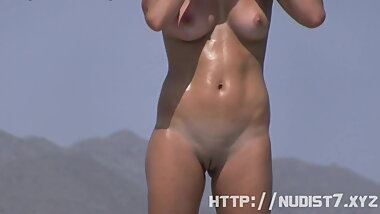 rousing nude beach voyeur spy cam video feature - PureSexMa