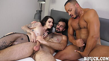 BiFuck: Hot FMM Anal Threesome with Messy Cumshot